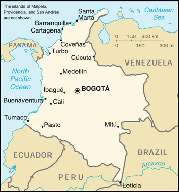 Cia The World Factbook 2000 Colombia