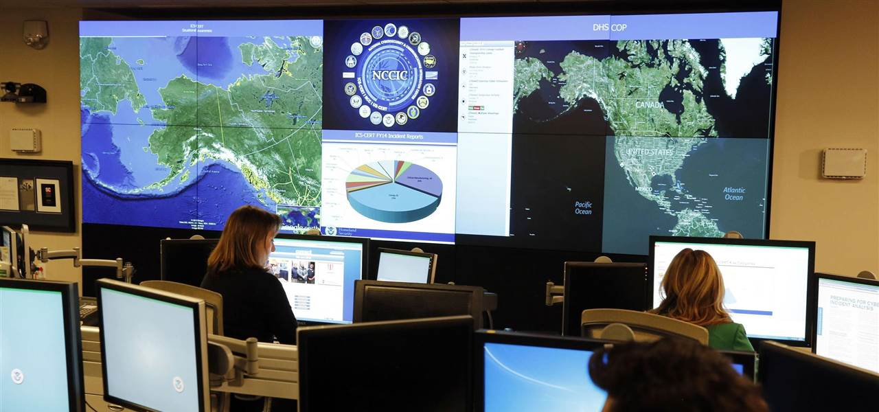 DHS Command Center